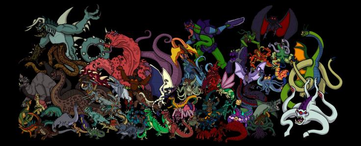 ATOM Full Kaiju Cast