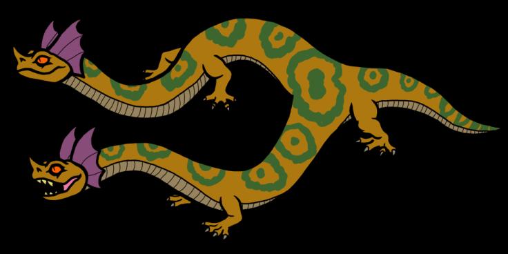 5 Serpents Amphisbaena