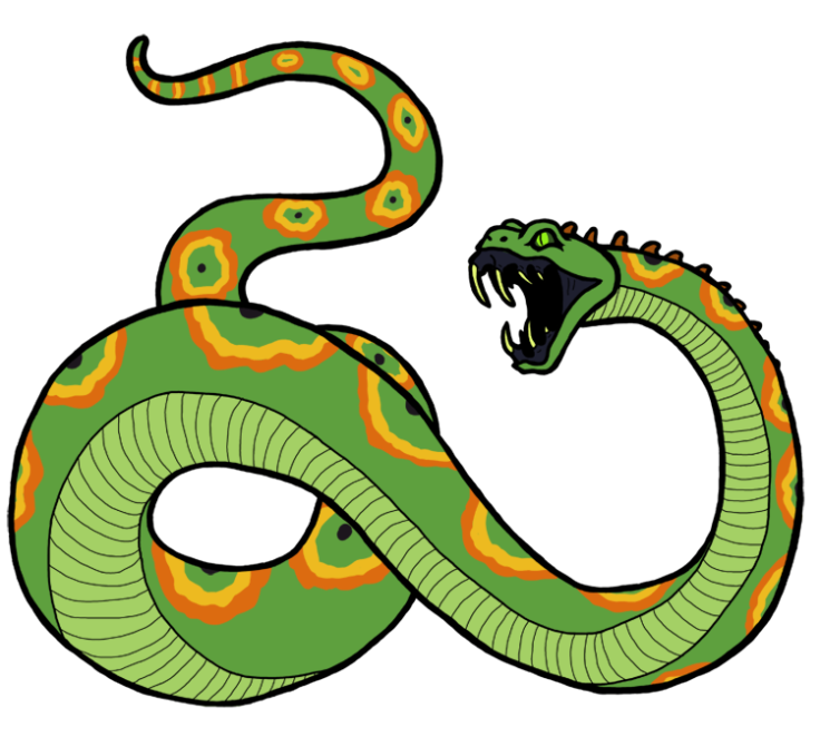 8 Serpents True Snake