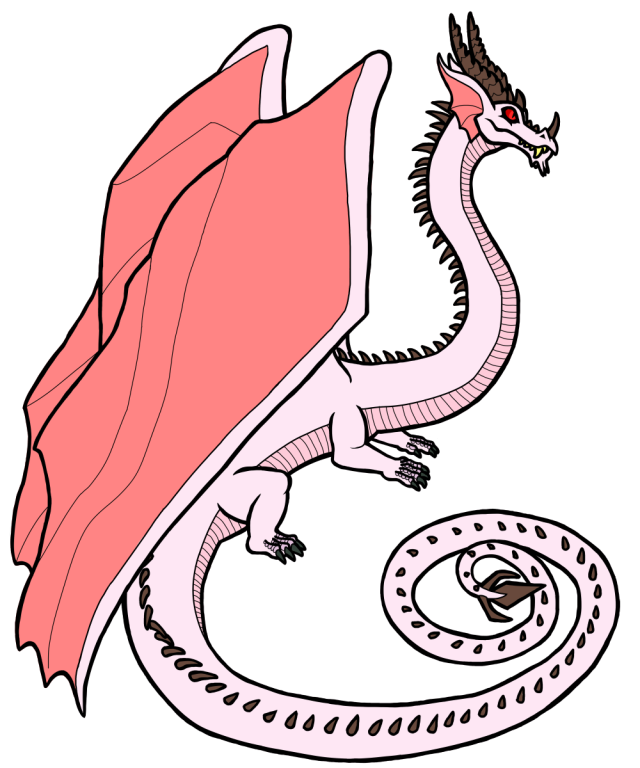 Cervine Cloud Dragon pink variant