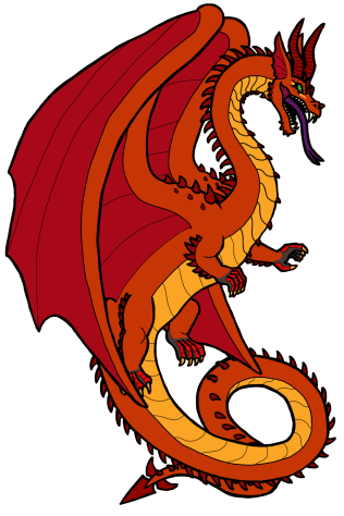 A Gilded Dragon with the rare dull color morph.