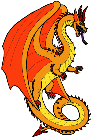 A Gilded Dragon with the rare yellow color morph.