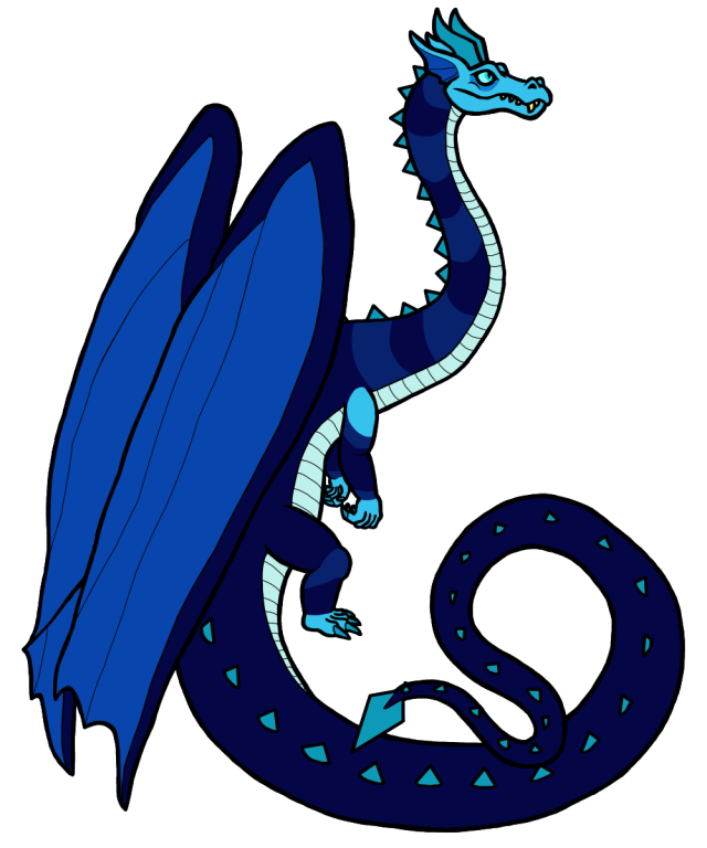 Grand Diamond Dragon Blue