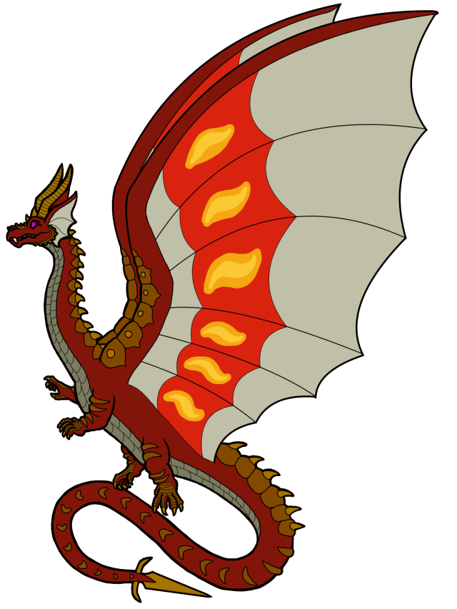 Regal Mountain Dragon