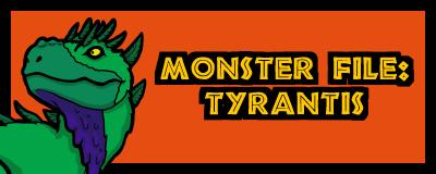 T3 Dinosaur Tyrantis Promo