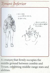 5 tyrant concept zombie