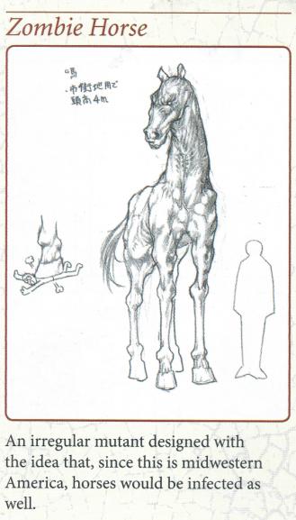 x zombie horse