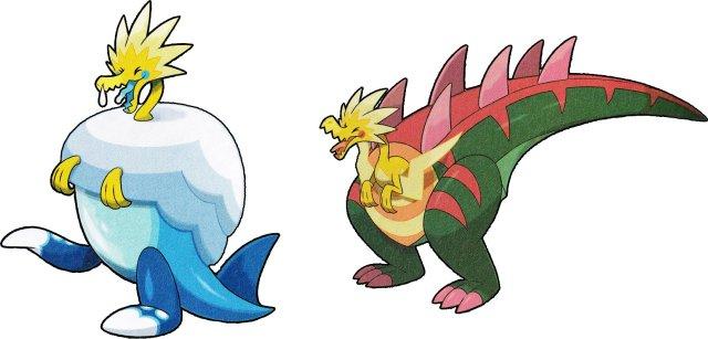 Arctozolt and Dracozolt